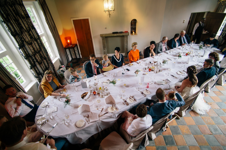 Dineren in de Havixhorst De Wijk, omgeving Meppel